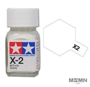 x-2-white-enamel